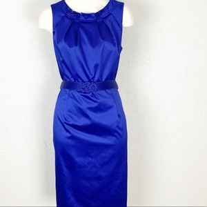 JONES WEAR Royal Blue Cocktail Dress Size 8